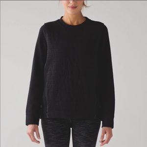 Lululemon Fleece be true crew sweatshirt